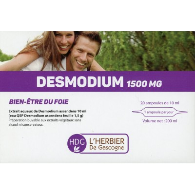 DESMODIUM 1500 mg ampoules