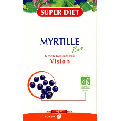 MYRTILLE BIO 20 Ampoule 15ml