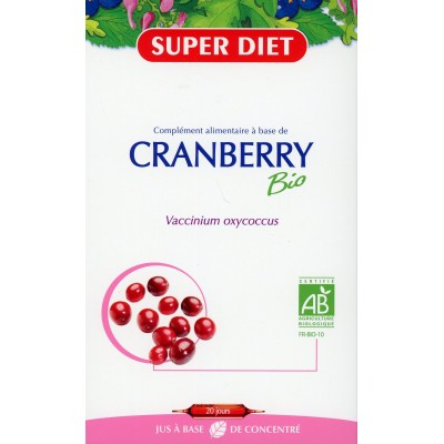 CRANBERRY BIO 20 Ampoules 15ml